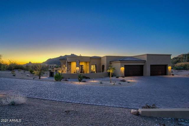 4002 La Ultima Piedra, Carefree, AZ 85377 (MLS #6203720) :: Devor Real Estate Associates