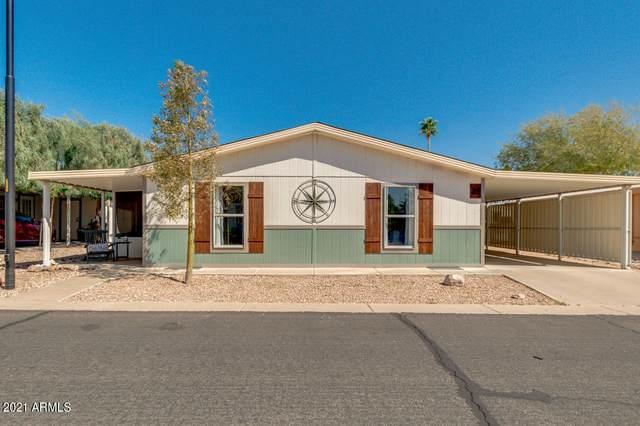 2400 E Baseline Avenue #35, Apache Junction, AZ 85119 (MLS #6205158) :: Devor Real Estate Associates