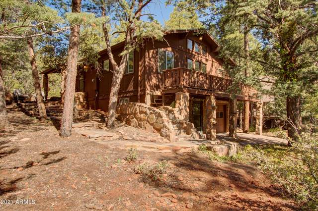 4508 N Chalet Drive, Pine, AZ 85544 (MLS #6205265) :: The AZ Performance PLUS+ Team