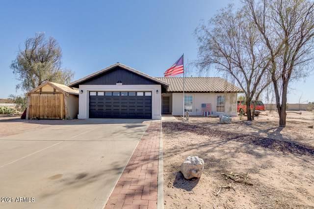 9363 W Madero Drive, Arizona City, AZ 85123 (MLS #6209955) :: Midland Real Estate Alliance