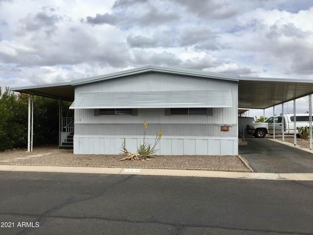 2609 W Southern Avenue #114, Tempe, AZ 85282 (MLS #6216316) :: Long Realty West Valley
