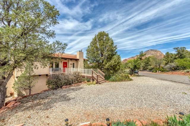 115 Donaldson Drive, Sedona, AZ 86336 (MLS #6216924) :: Yost Realty Group at RE/MAX Casa Grande