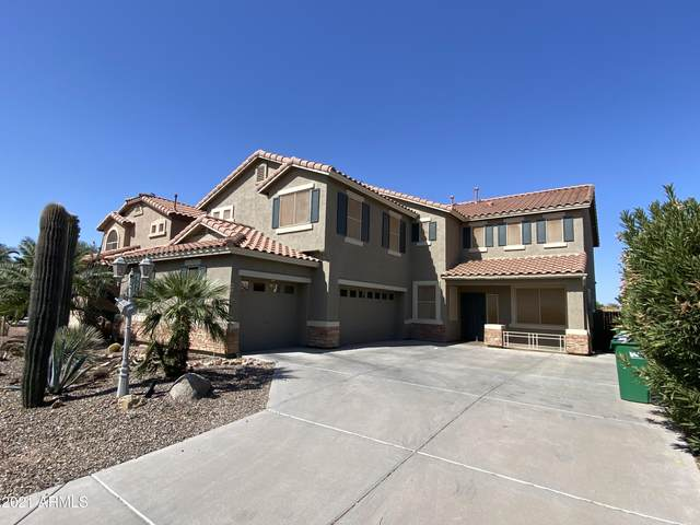 21568 N Backus Drive, Maricopa, AZ 85138 (MLS #6223974) :: The Laughton Team