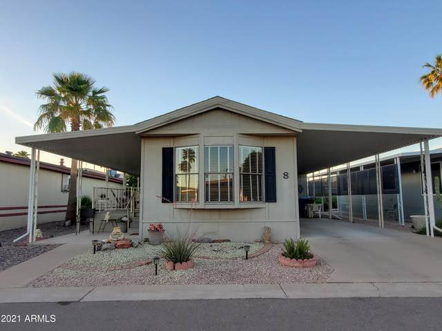 9302 E Broadway Road #8, Mesa, AZ 85208 (MLS #6231463) :: Maison DeBlanc Real Estate