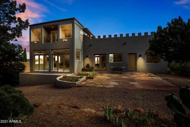 20 Soldier Basin Drive, Sedona, AZ 86351 (MLS #6231941) :: Yost Realty Group at RE/MAX Casa Grande