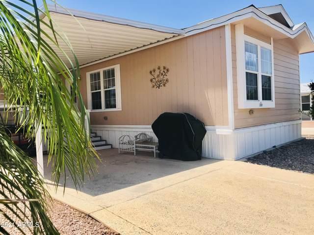 8700 E University Drive #2321, Mesa, AZ 85207 (MLS #6233230) :: Conway Real Estate