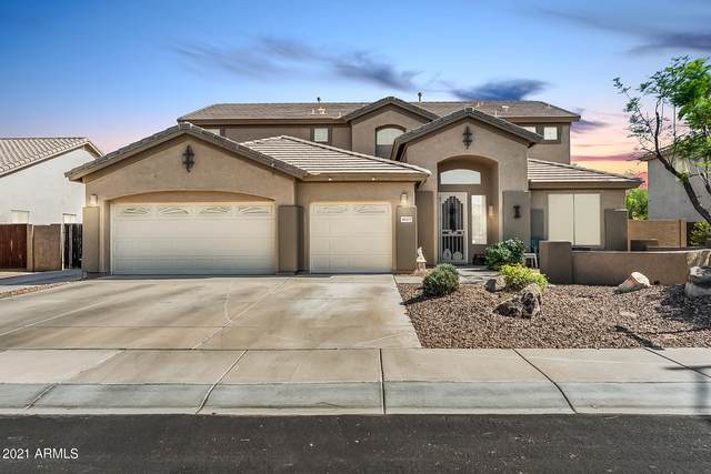 8027 W Via Montoya Drive, Peoria, AZ 85383 (MLS #6233575) :: Service First Realty