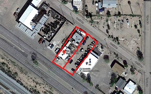 420 E Frontier Street, Eloy, AZ 85131 (MLS #6245265) :: The Garcia Group