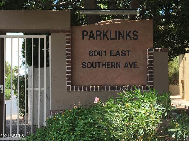 6001 E Southern Avenue #42, Mesa, AZ 85206 (MLS #6246343) :: Synergy Real Estate Partners