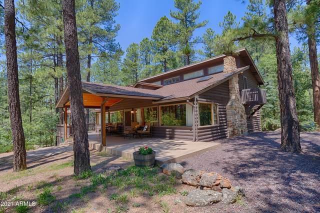 3057 Red Robin Road, Pinetop, AZ 85935 (MLS #6249362) :: Elite Home Advisors