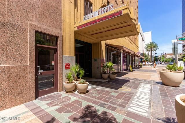 114 W Adams Street #207, Phoenix, AZ 85003 (MLS #6252720) :: Maison DeBlanc Real Estate