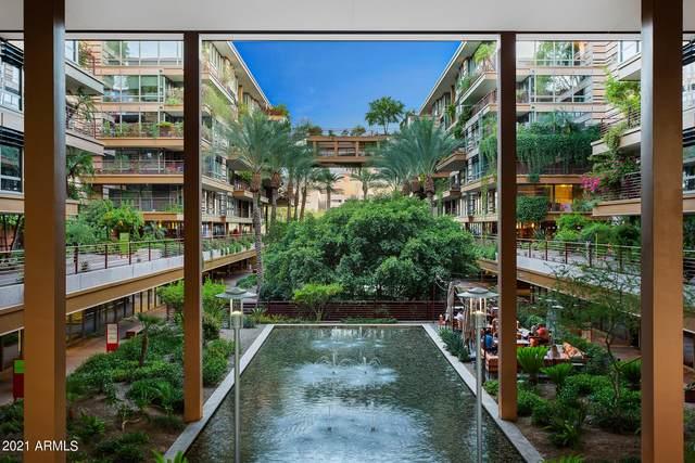 7151 E Rancho Vista Drive #4001, Scottsdale, AZ 85251 (MLS #6258003) :: Maison DeBlanc Real Estate
