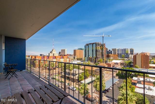 805 N 4TH Avenue N #804, Phoenix, AZ 85003 (MLS #6261134) :: Yost Realty Group at RE/MAX Casa Grande