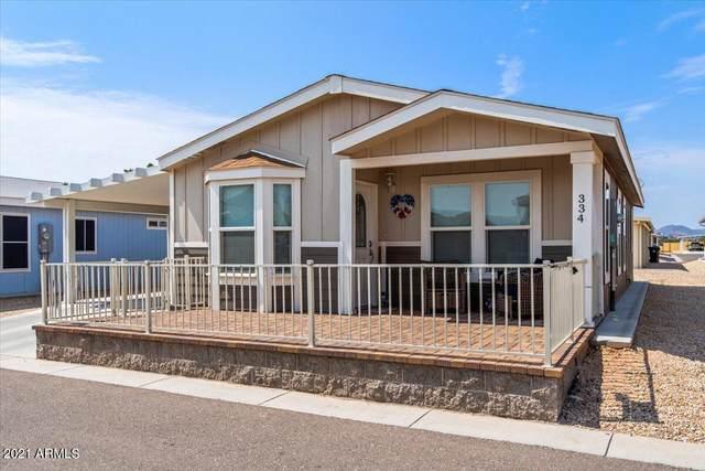 8865 E Baseline Road #334, Mesa, AZ 85209 (MLS #6267371) :: Long Realty West Valley