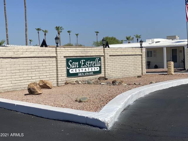 625 N 67TH Drive #19, Phoenix, AZ 85043 (MLS #6271550) :: ASAP Realty