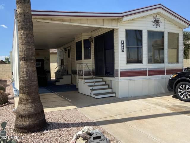 2063 W Klamath Avenue, Apache Junction, AZ 85119 (MLS #6272631) :: Power Realty Group Model Home Center