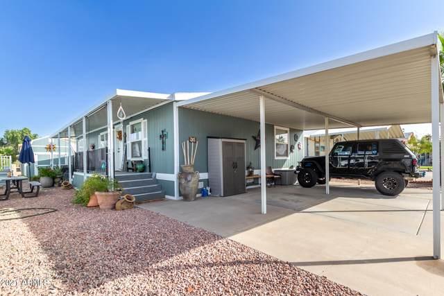 18240 N 21ST Street Lot 95, Phoenix, AZ 85022 (MLS #6306106) :: The Luna Team