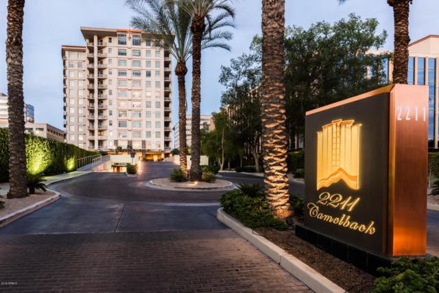 2211 E Camelback Road #1101, Phoenix, AZ 85016 (MLS #5544941) :: My Home Group