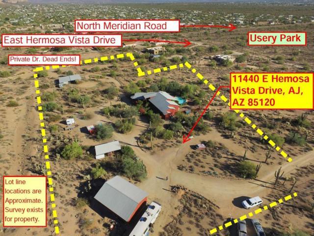 11440 E Hermosa Vista Drive, Apache Junction, AZ 85120 (MLS #5690117) :: The Kenny Klaus Team