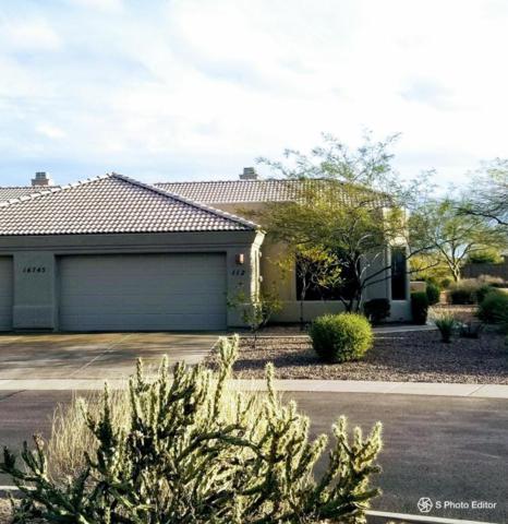 16745 E Saguaro Boulevard #112, Fountain Hills, AZ 85268 (MLS #5725074) :: Yost Realty Group at RE/MAX Casa Grande