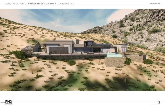 LOT B 5850 E Cholla Lane, Paradise Valley, AZ 85253 (MLS #5835185) :: Keller Williams Realty Phoenix