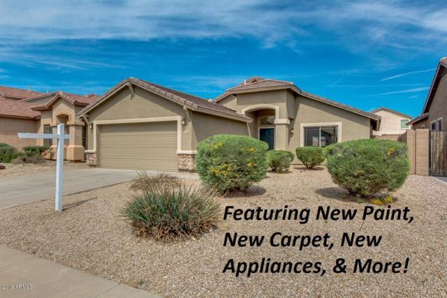 43216 W Chisolm Drive, Maricopa, AZ 85138 (MLS #5896395) :: The Laughton Team