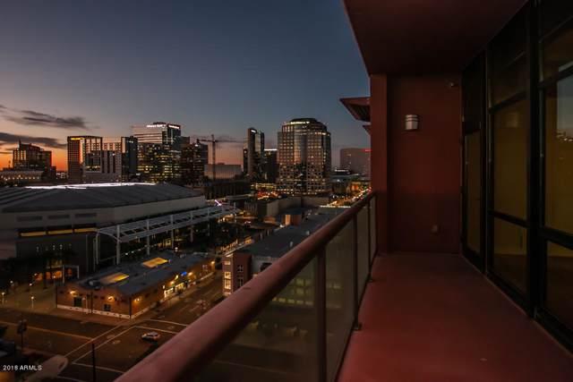 310 S 4TH Street #1401, Phoenix, AZ 85004 (MLS #5914139) :: The W Group
