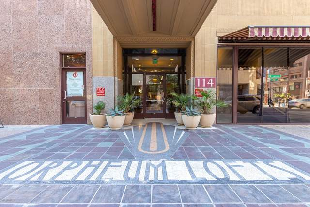 114 W Adams Street #501, Phoenix, AZ 85003 (MLS #6016810) :: Brett Tanner Home Selling Team