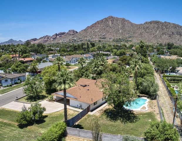 4135 N 57TH Way, Phoenix, AZ 85018 (MLS #6085497) :: Nate Martinez Team