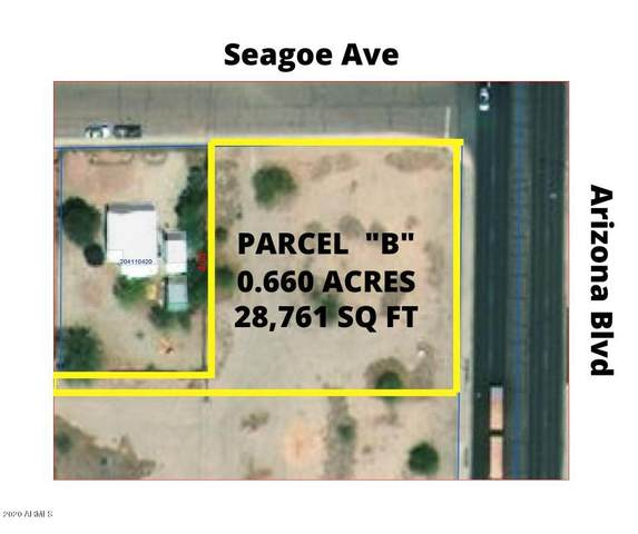 700 S Arizona Boulevard, Coolidge, AZ 85128 (MLS #6121088) :: Scott Gaertner Group