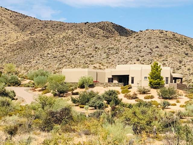 11744 E Blue Wash Road, Cave Creek, AZ 85331 (MLS #6163631) :: The W Group