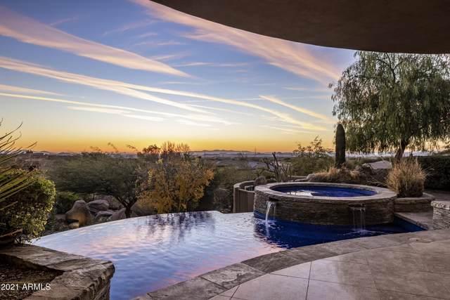 9818 E Balancing Rock Road, Scottsdale, AZ 85262 (MLS #6175431) :: The W Group