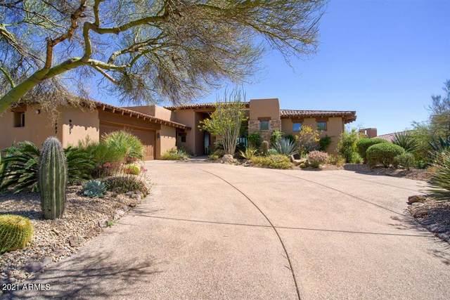 9927 E Broken Spur Drive, Scottsdale, AZ 85262 (#6214069) :: Luxury Group - Realty Executives Arizona Properties