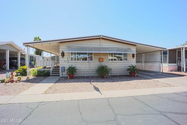10960 N 67th Avenue #218, Glendale, AZ 85304 (MLS #6228578) :: Maison DeBlanc Real Estate