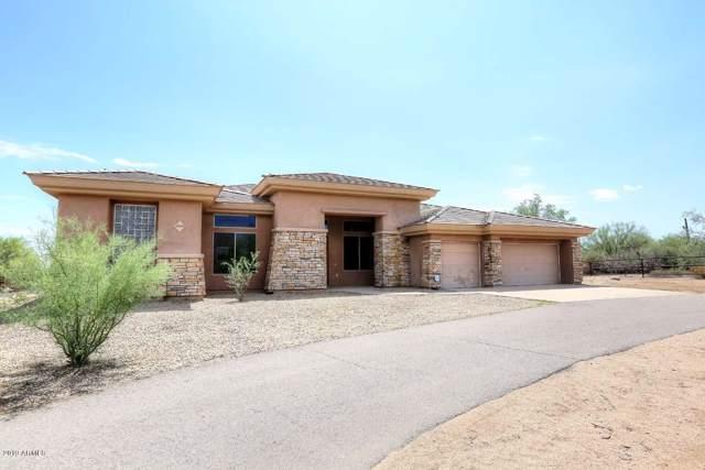16309 E Calles De Los Flores Drive, Scottsdale, AZ 85262 (MLS #5936880) :: RE/MAX Excalibur