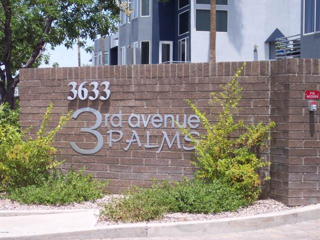 3633 N 3RD Avenue #1091, Phoenix, AZ 85013 (MLS #5948775) :: Brett Tanner Home Selling Team