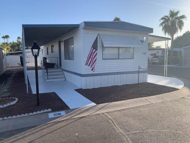 535 S Alma School Road #108, Mesa, AZ 85210 (MLS #5987986) :: The Kenny Klaus Team