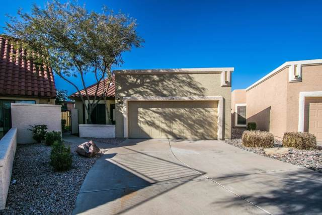 2848 E Brown Road #22, Mesa, AZ 85213 (MLS #6015001) :: The Kenny Klaus Team
