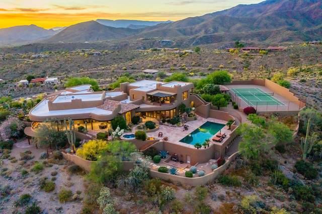 8741 E Silver Saddle Drive, Carefree, AZ 85377 (MLS #6077723) :: Riddle Realty Group - Keller Williams Arizona Realty