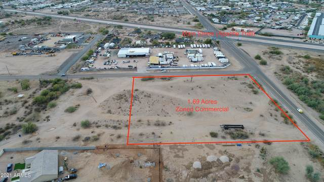 0 N Tomahawk Road, Apache Junction, AZ 85119 (MLS #6188491) :: The AZ Performance PLUS+ Team