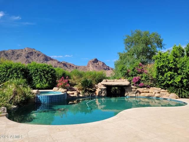 6602 N Lost Dutchman Drive, Paradise Valley, AZ 85253 (MLS #6212549) :: Executive Realty Advisors