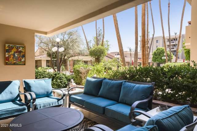 4200 N Miller Road #123, Scottsdale, AZ 85251 (MLS #6251243) :: The Ellens Team