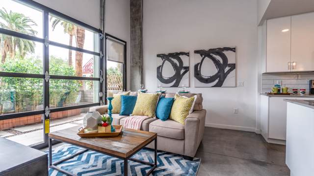 1130 N 2ND Street #102, Phoenix, AZ 85004 (MLS #5947220) :: Kortright Group - West USA Realty