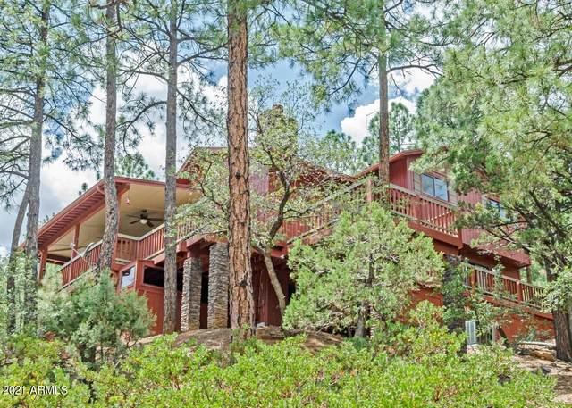 5281 N Canyon View Street, Pine, AZ 85544 (MLS #6231601) :: Yost Realty Group at RE/MAX Casa Grande
