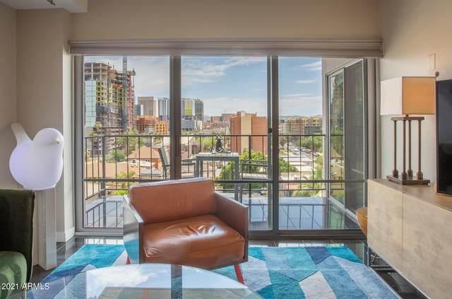 805 N 4TH Avenue #708, Phoenix, AZ 85003 (MLS #6244909) :: Kepple Real Estate Group