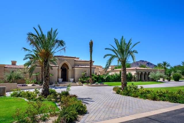 6659 E Indian Bend Road, Paradise Valley, AZ 85253 (MLS #5725463) :: Riddle Realty Group - Keller Williams Arizona Realty