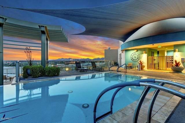 2402 E Esplanade Lane E Ph4, Phoenix, AZ 85016 (MLS #5907843) :: Conway Real Estate