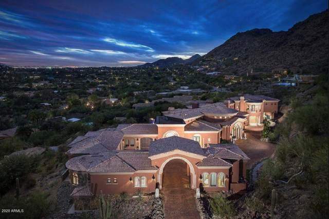 7017 N Invergordon Road, Paradise Valley, AZ 85253 (MLS #6125923) :: Yost Realty Group at RE/MAX Casa Grande