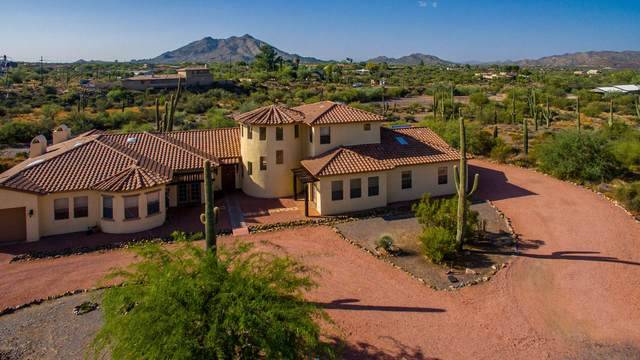 6737 E Rockaway Hills Drive, Cave Creek, AZ 85331 (MLS #6132381) :: Yost Realty Group at RE/MAX Casa Grande