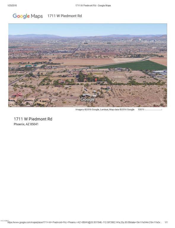 1711 W Piedmont Road, Phoenix, AZ 85041 (MLS #5388474) :: The Wehner Group